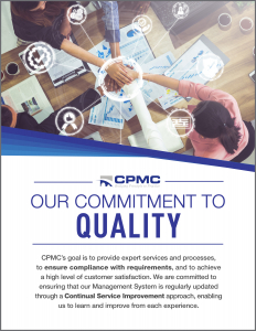 CPMC Quality Poster